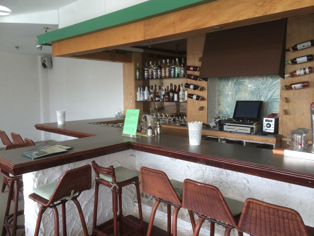 Hotelbar Teneriffa - vorher