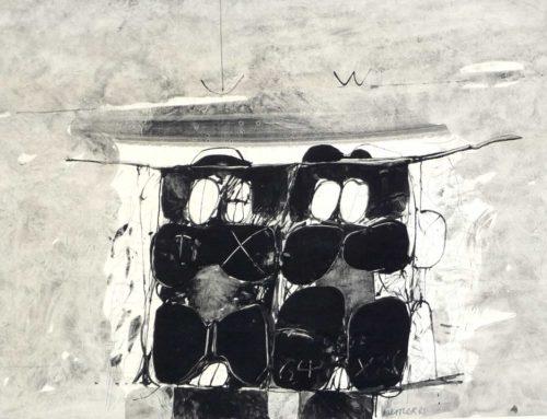 Frühe Werke des Hamburger Künstlers        Dieter Nestler stehen zum Verkauf